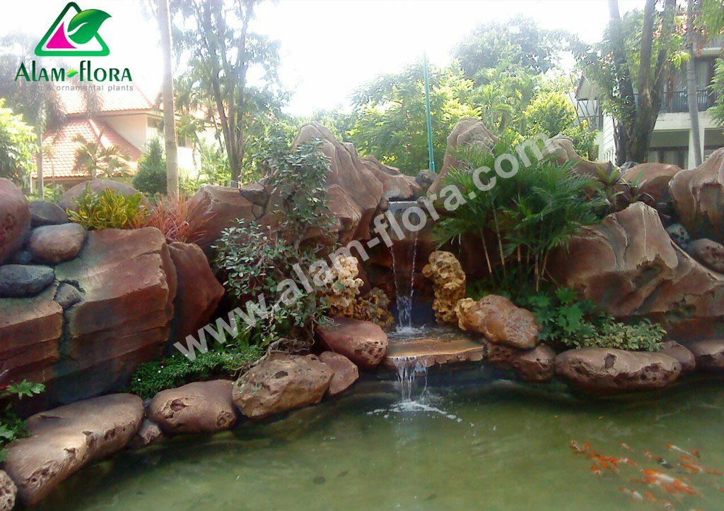 kolam klasik tebing 8