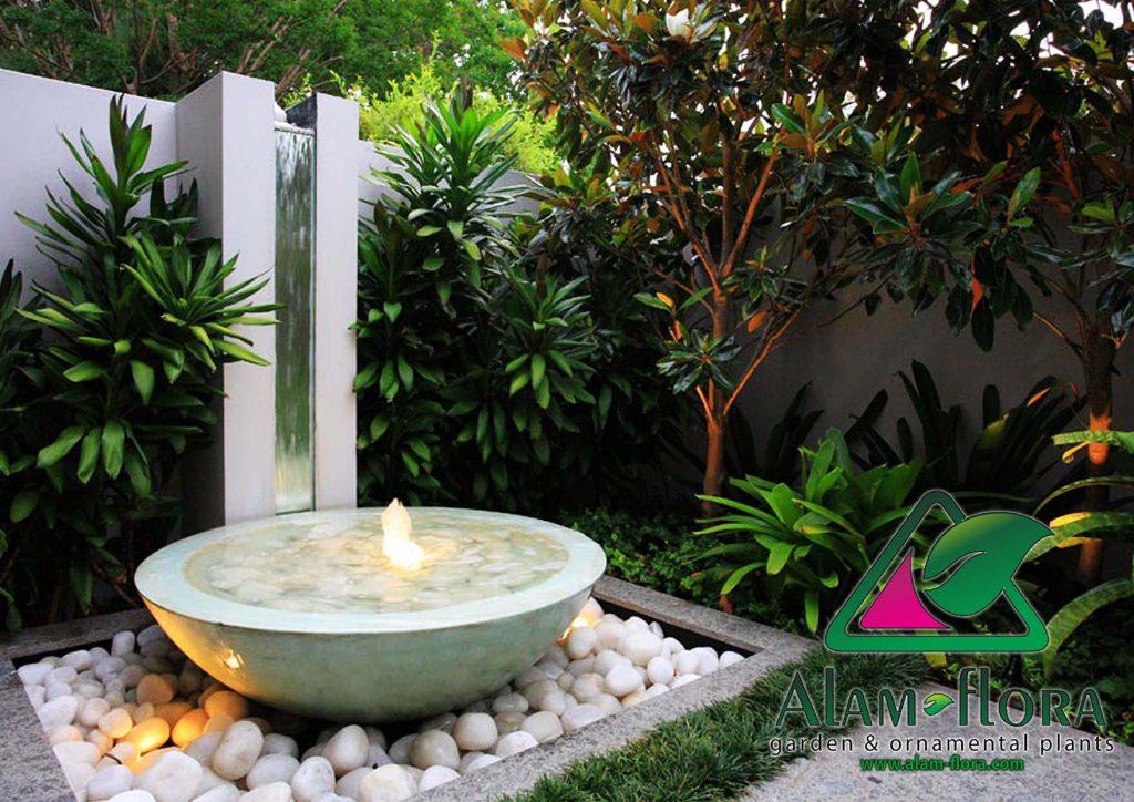 desain taman rumah minimalis elegan