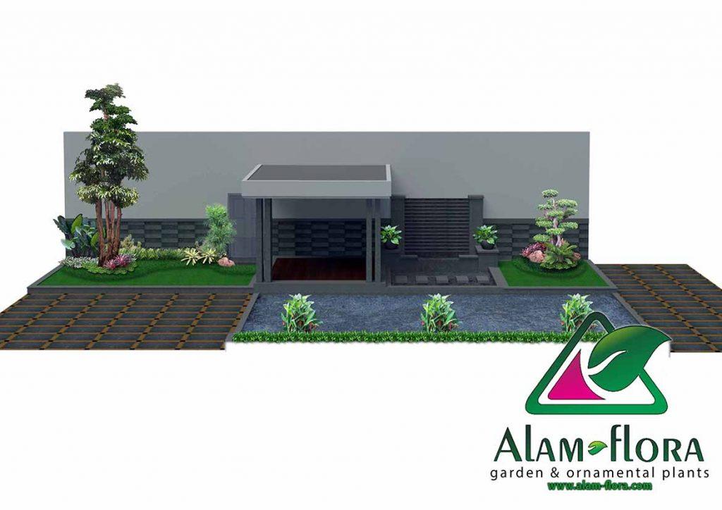 gallery desain taman roof atap 3D dan pengerjaannya 4