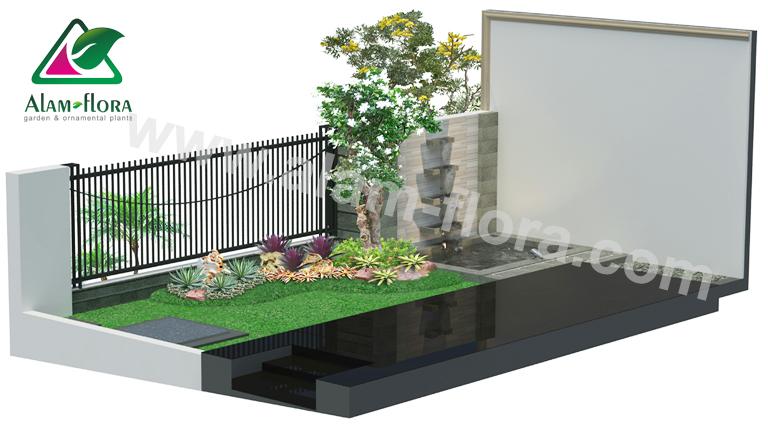 desain taman alam flora 10