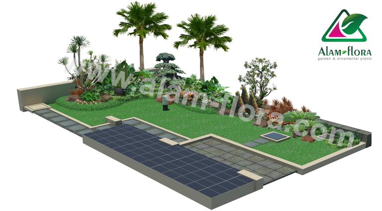desain taman alam flora 13