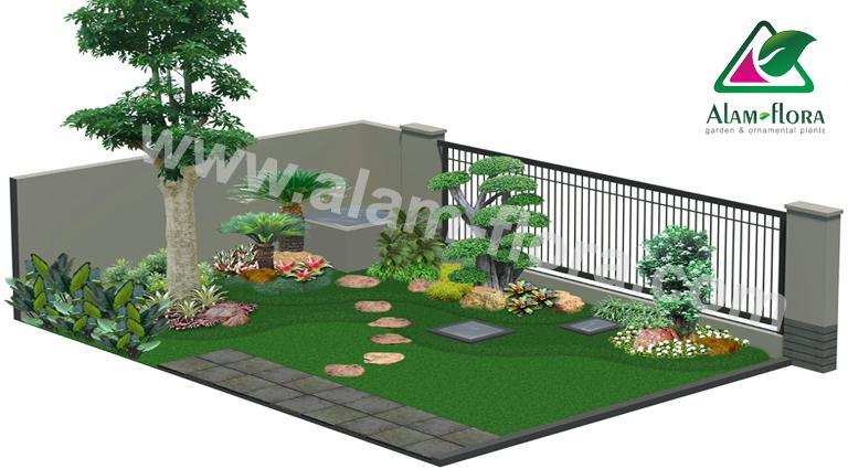 desain taman alam flora 14