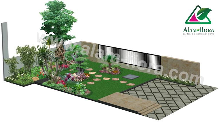 desain taman alam flora 15