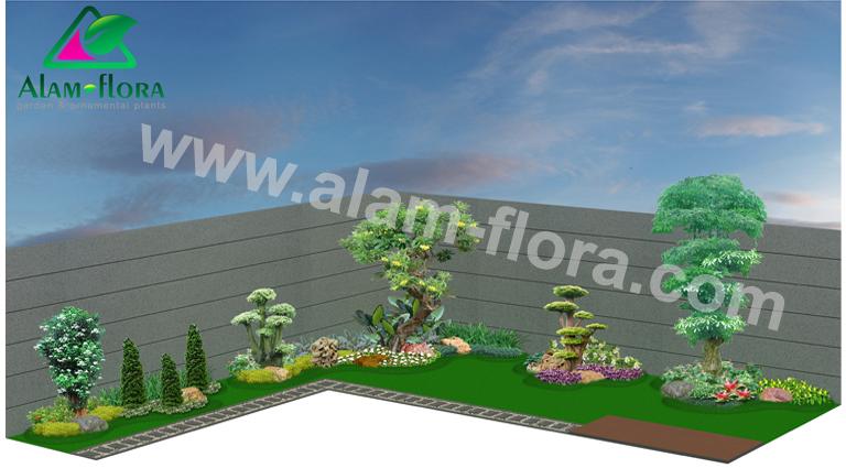 desain taman alam flora 20