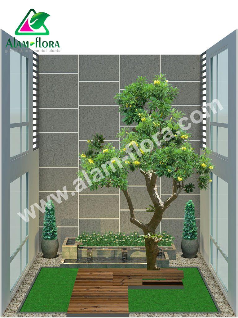 desain taman alam flora 21