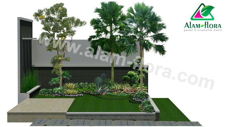 desain taman alam flora 22