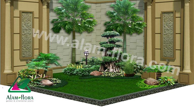 desain taman alam flora 23