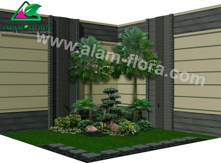 desain taman alam flora 24