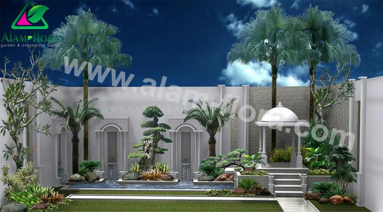 desain taman alam flora 25