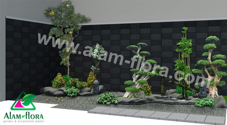 desain taman alam flora 27