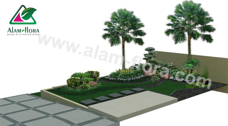 desain taman alam flora 28