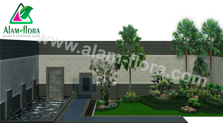 desain taman alam flora 29