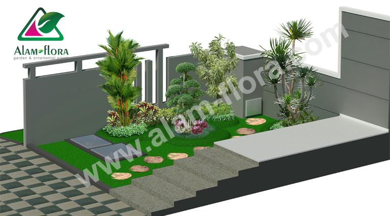 desain taman alam flora 3