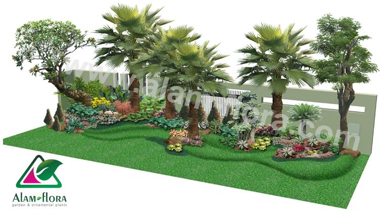 desain taman alam flora 30