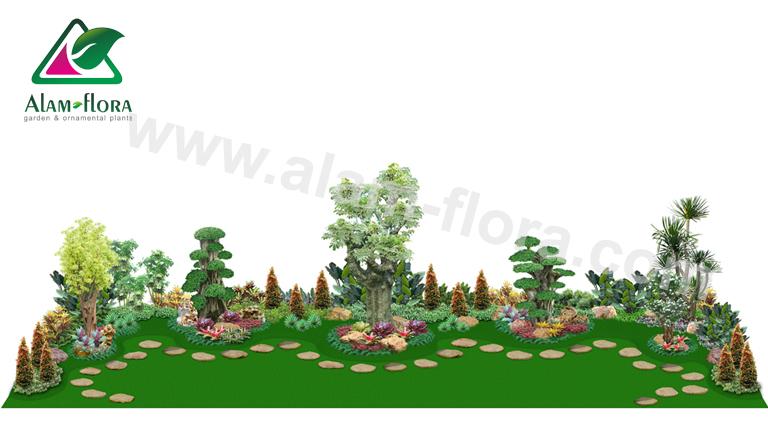 desain taman alam flora 33