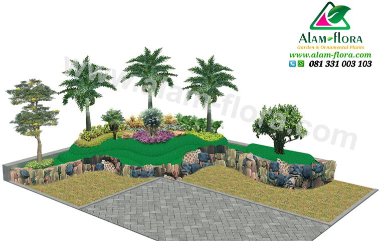 desain taman alam flora 34