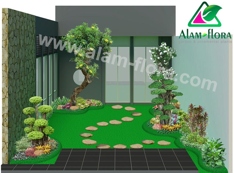 desain taman alam flora 35