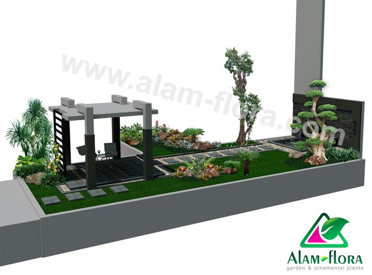 desain taman alam flora 38