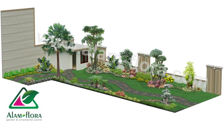 desain taman alam flora 40