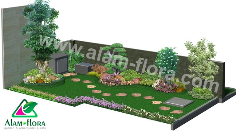 desain taman alam flora 41