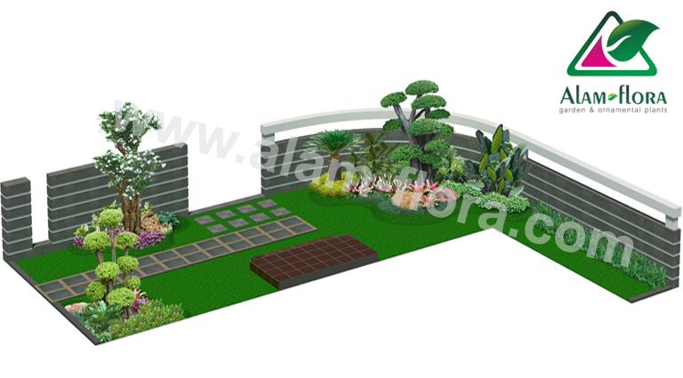 desain taman alam flora 42