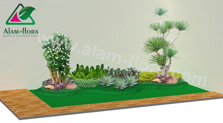 desain taman alam flora 44