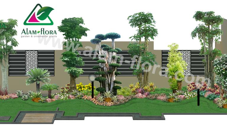desain taman alam flora 45