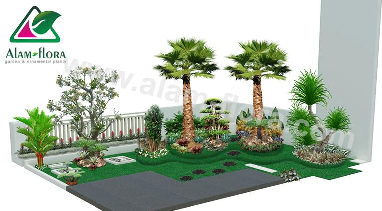 desain taman alam flora 46