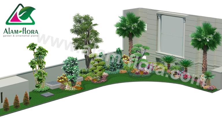 desain taman alam flora 47