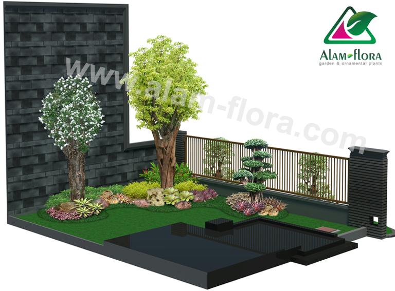 desain taman alam flora 48
