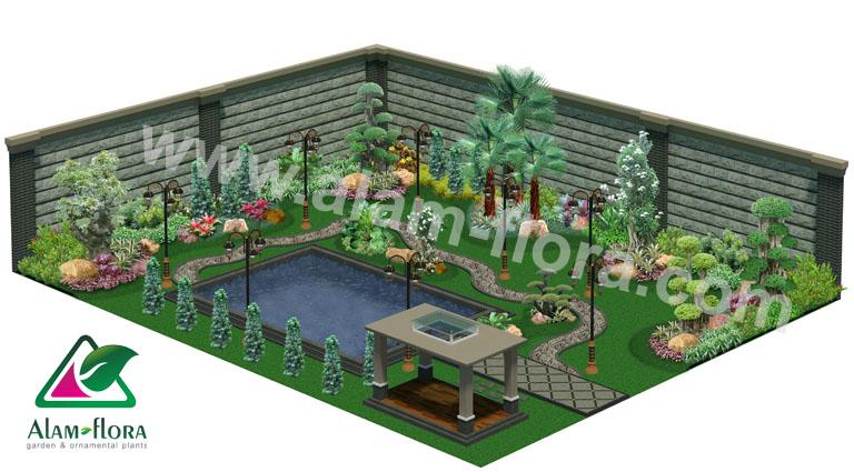 desain taman alam flora 5