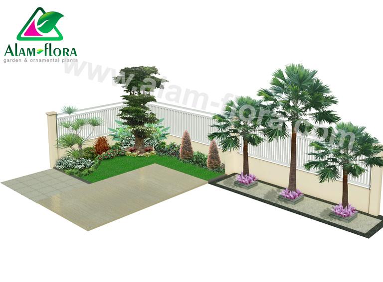 desain taman alam flora 52