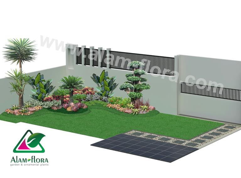 desain taman alam flora 54