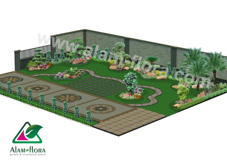 desain taman alam flora 55