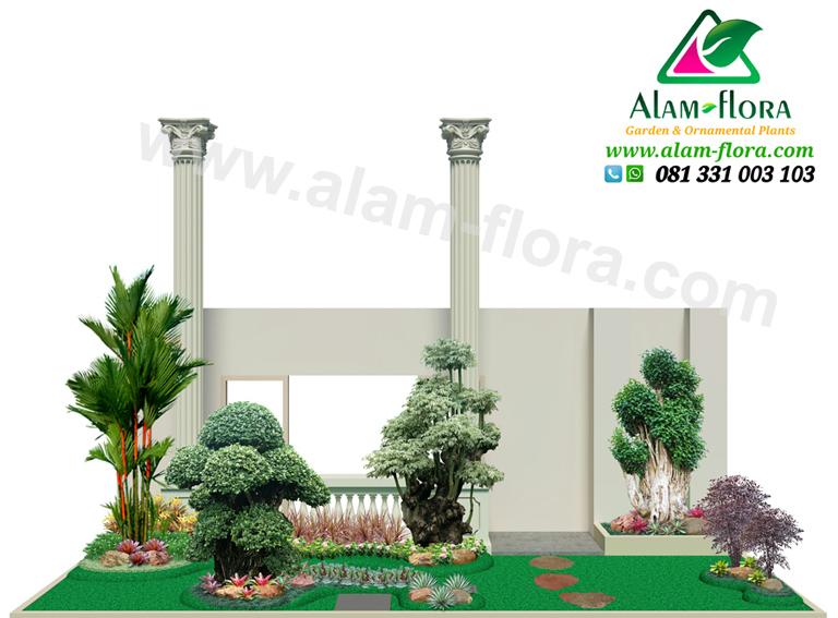 desain taman alam flora 58