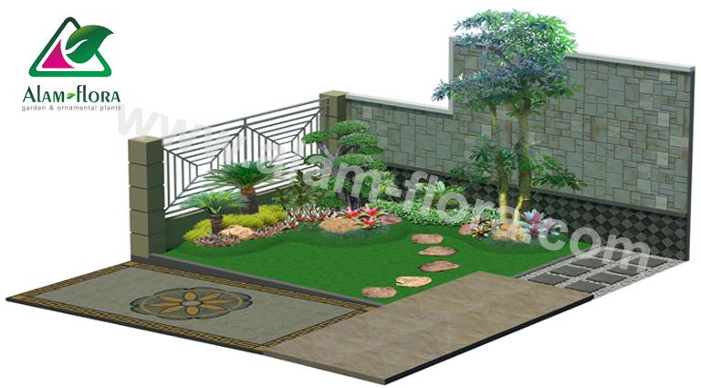 desain taman alam flora 6