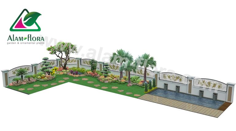 desain taman alam flora 60