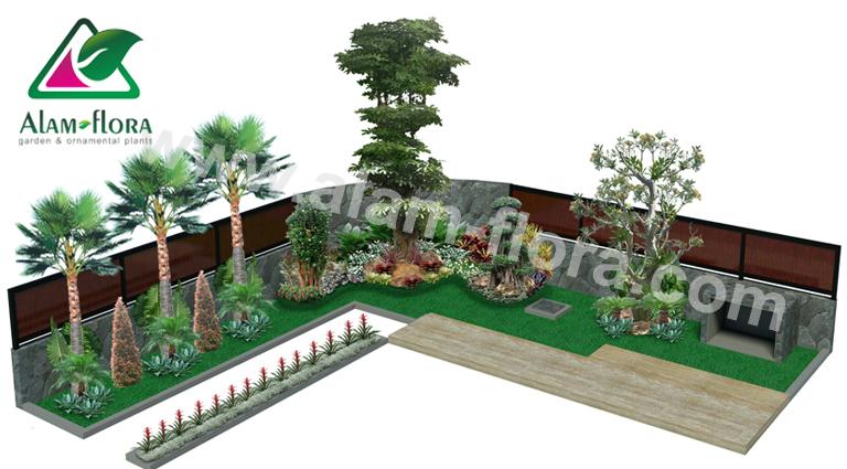 desain taman alam flora 62