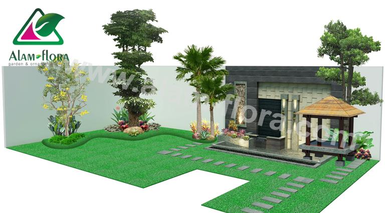 desain taman alam flora 63