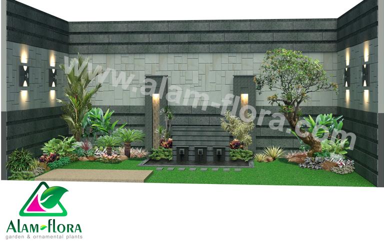 desain taman alam flora 64