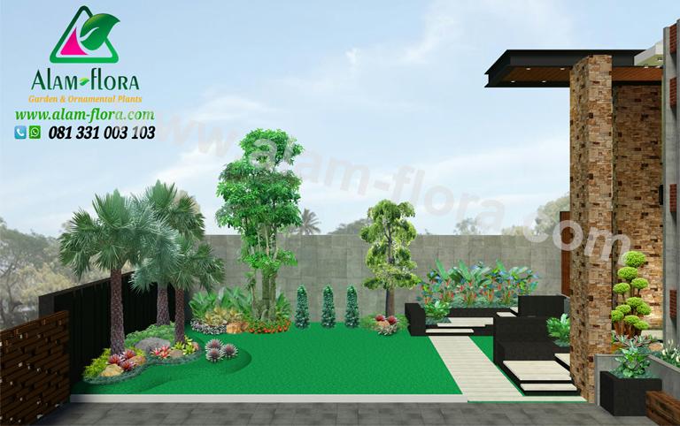 desain taman alam flora 67