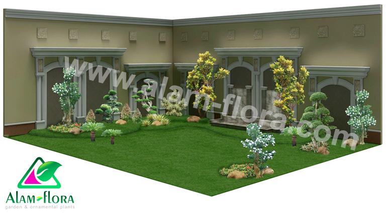 desain taman alam flora 7