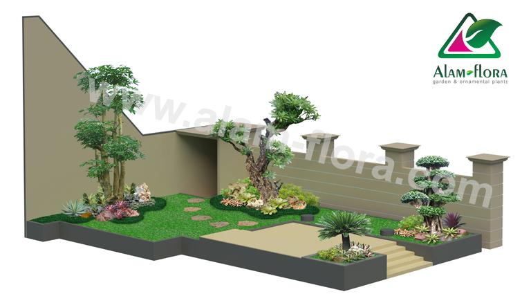 desain taman alam flora 8