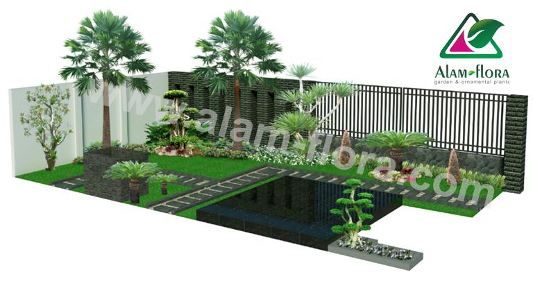 desain taman alam flora 9